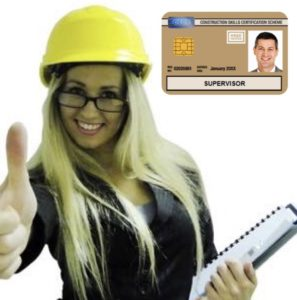 NVQ Level 3 Gold CSCS Card